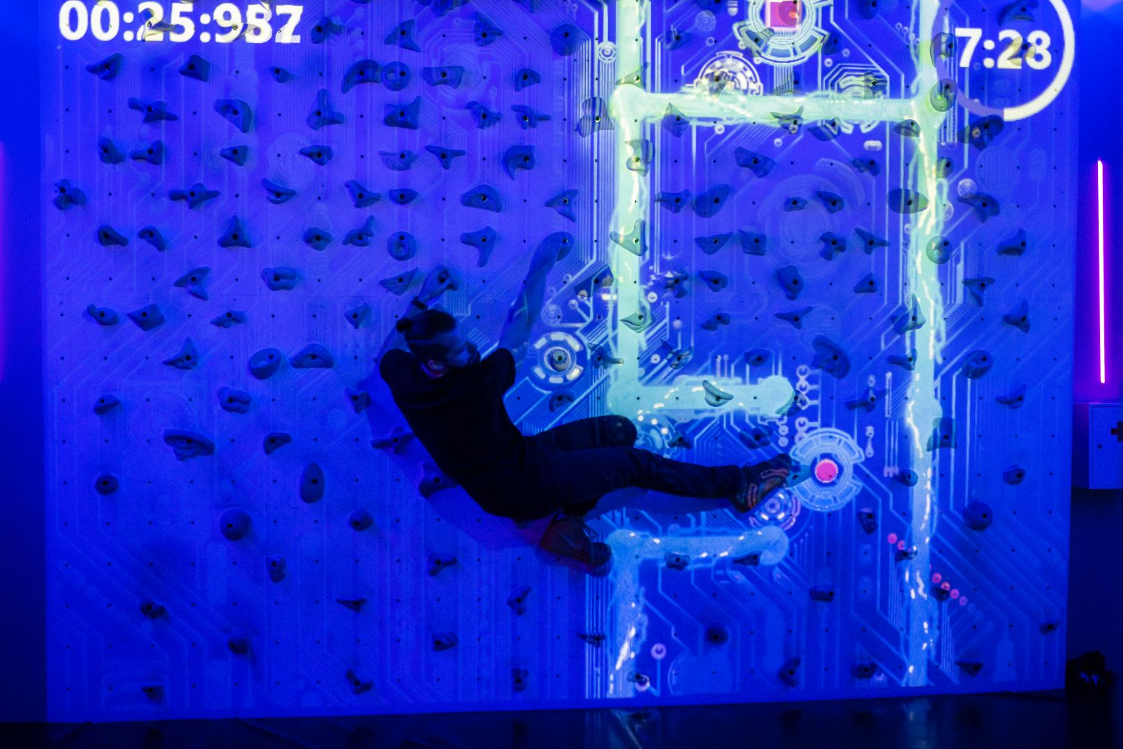 Augmented-Climbing-Wall-Gaming-Sparks